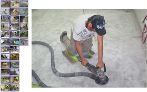 industrial and commercial floor preparation